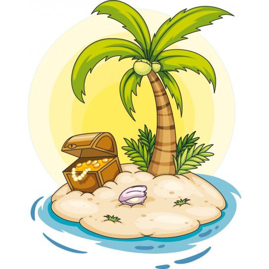 Stickers île au trésor