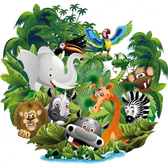 Stickers jungle