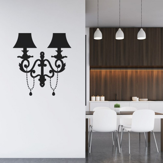 Stickers Lampe