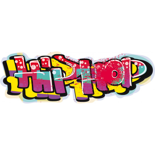 Stickers tag hip hop